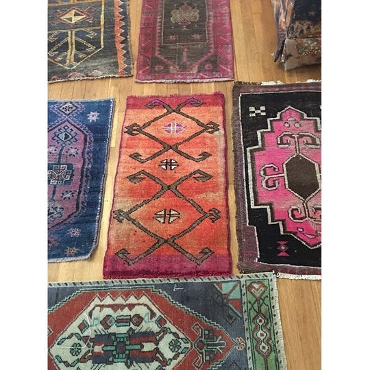 The Good Rug sells vintage Moroccan rugs, pillows and other home decor. Owner Annie Ledvina currently has a pop-up shop open on Kercheval in Detroit's West Village.