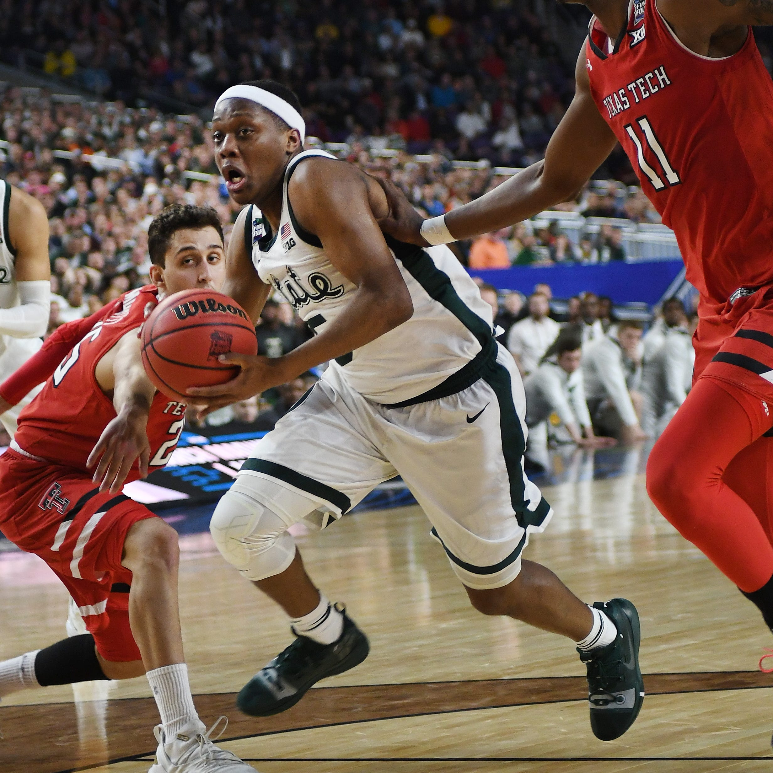 Michigan State's Cassius Winston takes big-picture approach to NBA