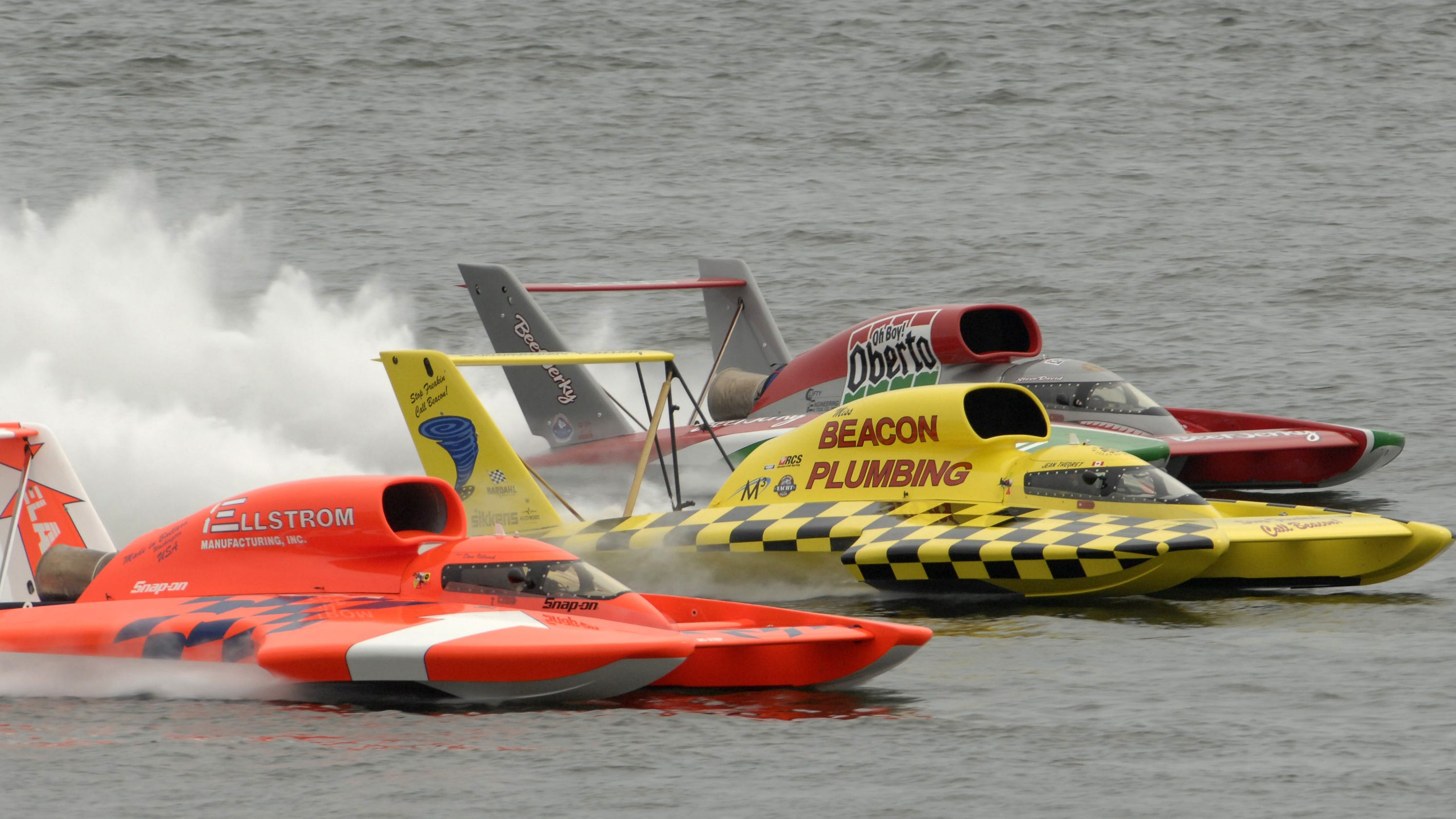 Hydroplane boat racing off the table for now, but a return is possible