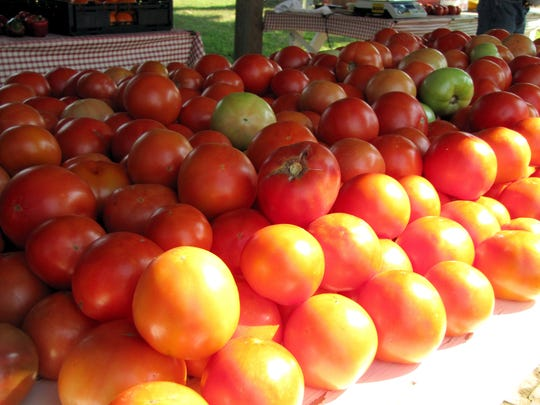 Bud's Farm Market will be opening  this week with ripe hothouse tomatoes.