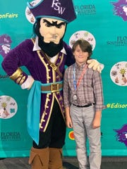 Hayden Fuller was also selected to participate in the 2019 STEM Buccaneers Camp hosted by the School of Pure and Applied Sciences at Florida SouthWestern State College.