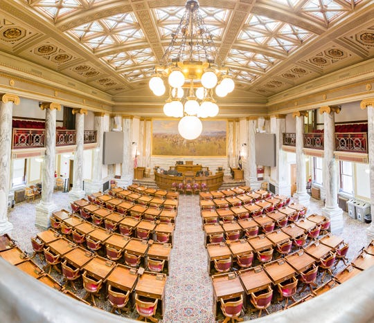The House is considering new chairs after several lawmakers have taken a tumble in the last few sessions.