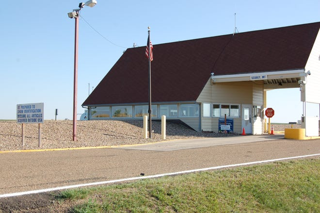 The Port of Scobey on the U.S.-Canadian border.