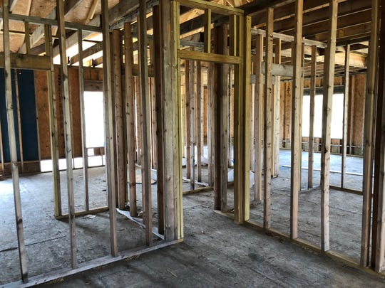 Lashonda Johnson of Petal said she gave contractor Kenton McNeese $50,000 to rebuild her home, but he just put up a frame and a shell.
