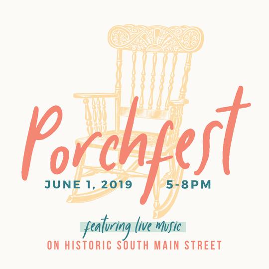 Porchfest 2019 logo