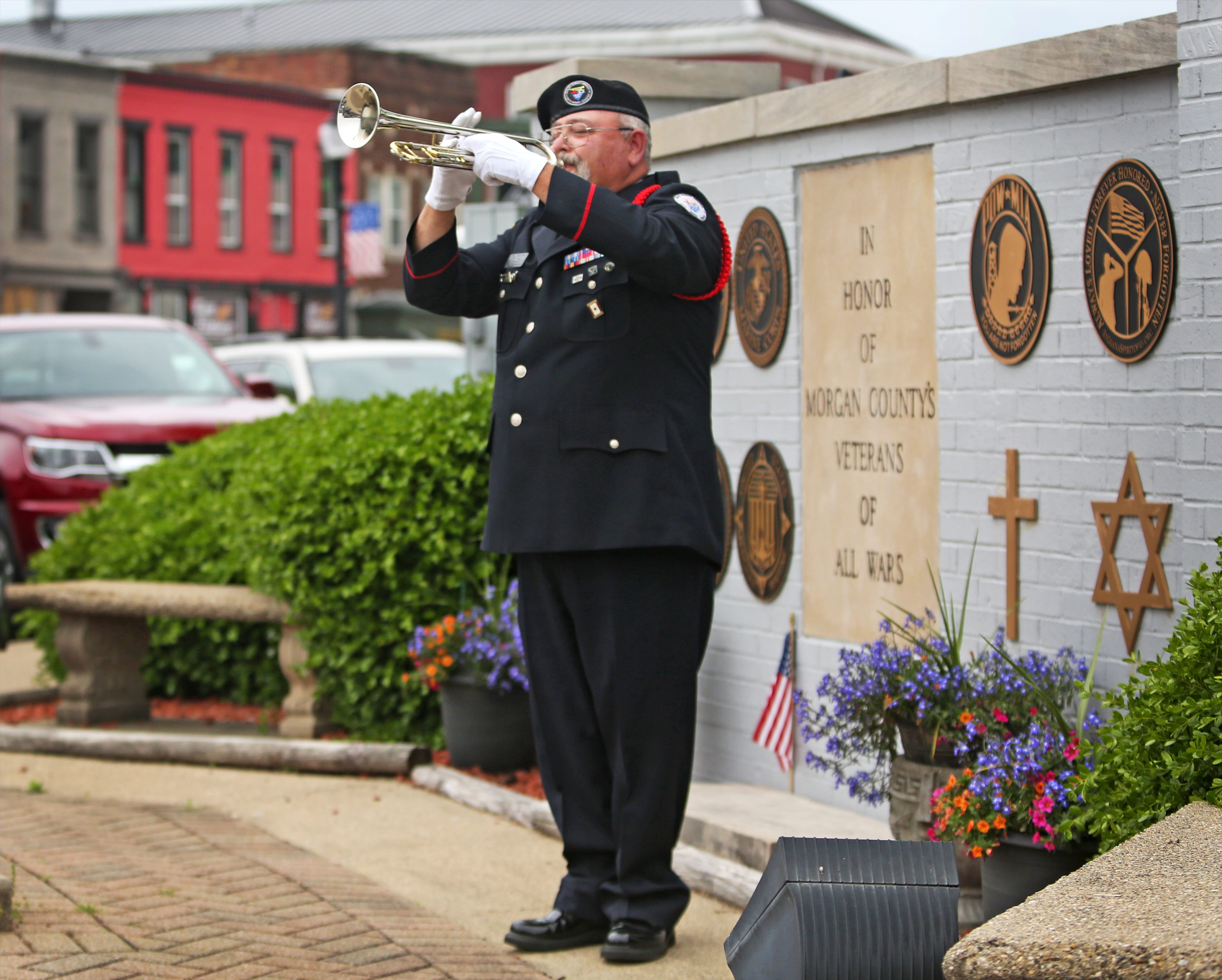 'The sound of Taps comes directly from the heart'