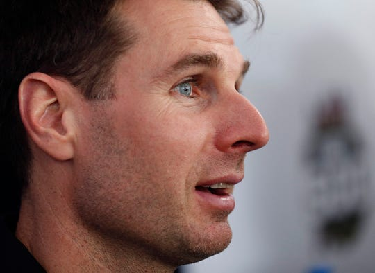 Will Power (12) of Team Penske during media day for the Indianapolis 500 at the Indianapolis Motor Speedway on Thursday, May 23, 2019.