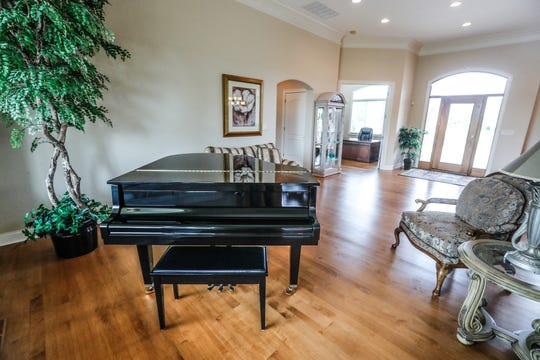 A custom home listed at $899,000, and located at 4884 E. Krestridge Court, Bargersville, Ind. 46106, features an open concept floor plan on Wednesday, May 23, 2019.