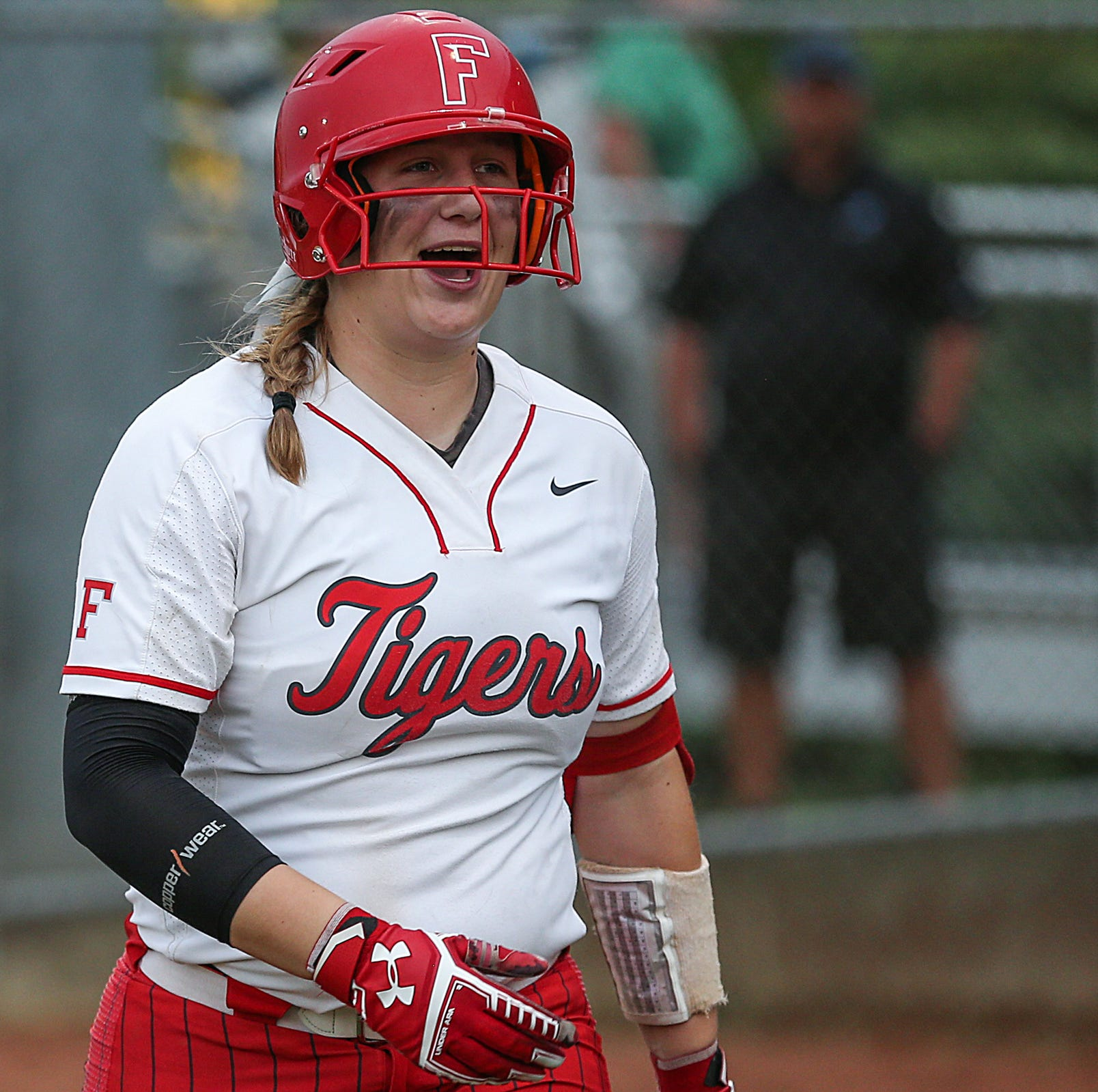 FILE – Hannah Mays had five RBI in the bottom of the sixth inning to lift Fishers past Hamilton Southeastern in Wednesday's sectional final.