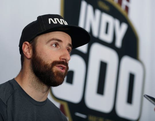 FILE -- James Hinchcliffe, pictured in 2019