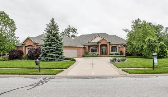 A custom home listed at $899,000, and located at 4884 E. Krestridge Court, Bargersville, Ind. 46106, features neutral decor an elevator, and more on Wednesday, May 23, 2019.