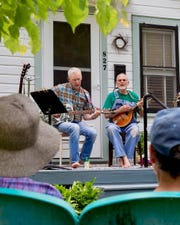All music genres and all levels of ability are on display during the Front Porch Music Festival.