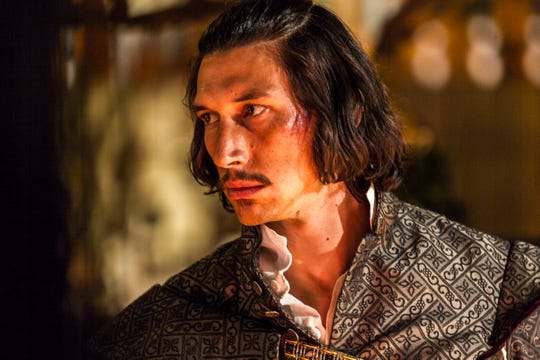"""Toby Grison (played by Adam Driver) in a screenshot from Terry Gilliam's """"The Man Who Killed Don Quixote."""""""