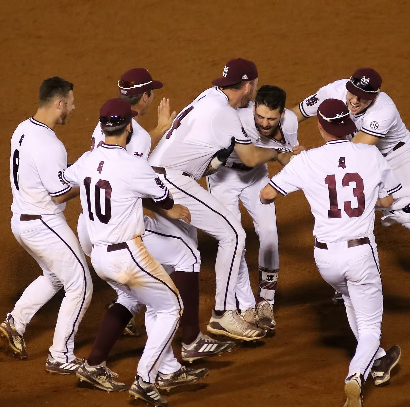 Mississippi State walks off LSU in record-setting game in SEC Tournament