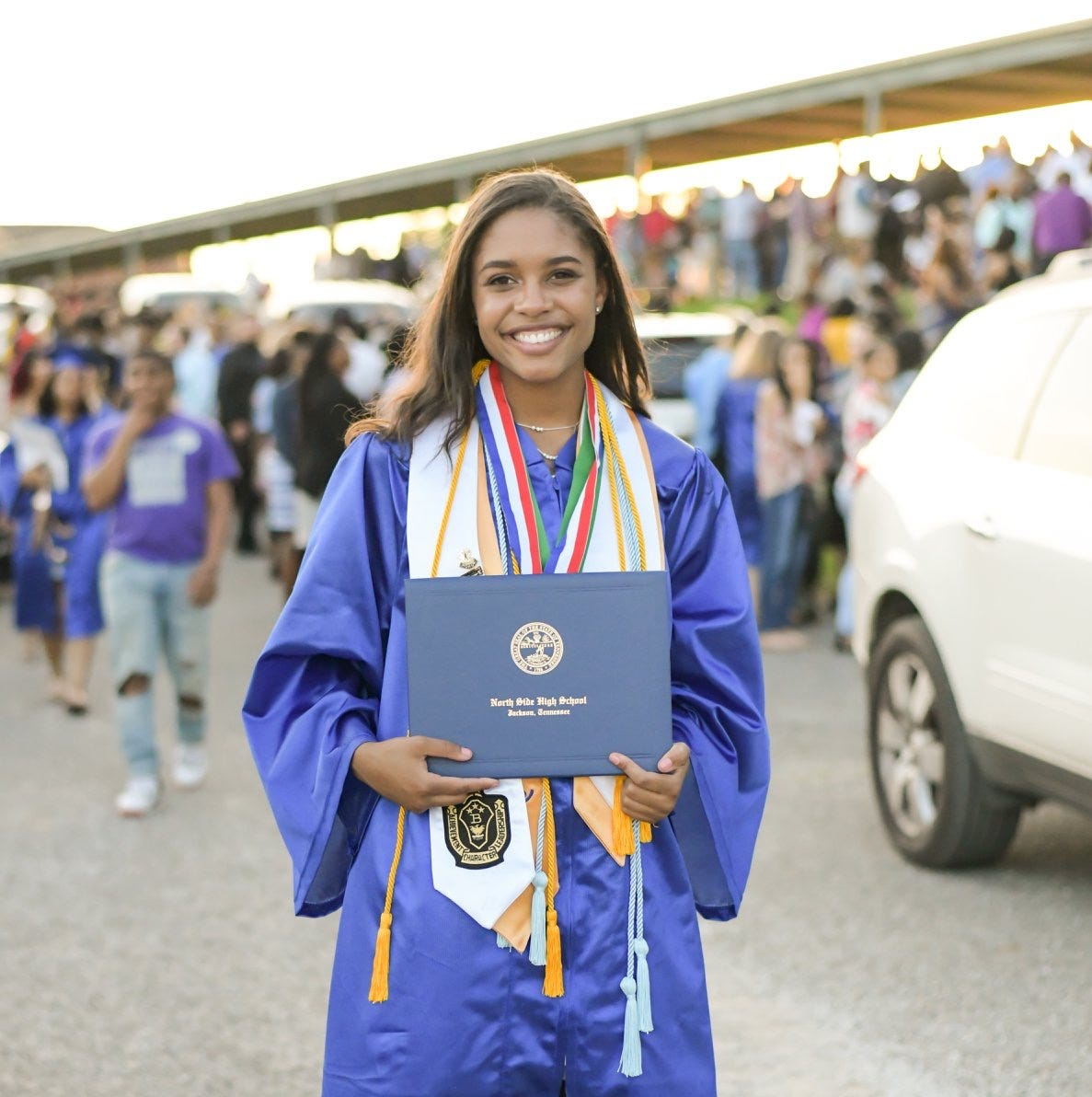 North Side student graduates in 3 years as first to do it, with highest GPA