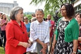 A new historic marker honoring famed Knoxville poet Nikki Giovanni was unveiled Thursday morning, May 23 at Cal Johnson Park.
