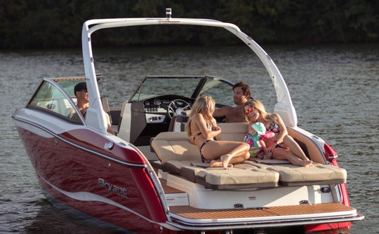 Sweetwater-based Bryant Boats makes its 20- to 27-foot runabouts and surf boats mostly by hand, using no wood at all, according to the company.