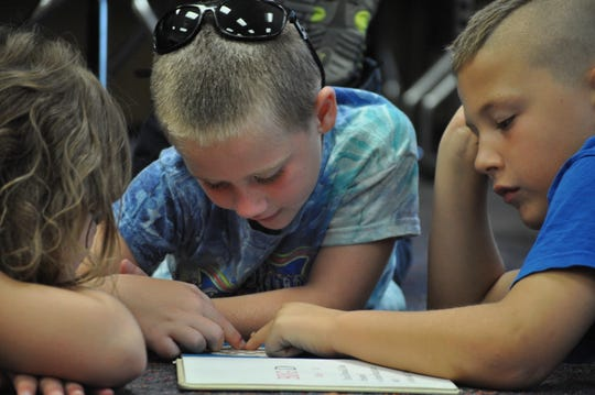 Reading is a key component of the program, and reading together reinforces learning while building bonds.