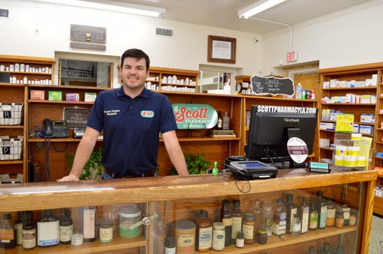 Owner, Forrest Fontenot is continuing a 100-year tradition in Scott