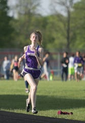 Avery Chappell ran on Fowlerville's 1,600-meter relay team in the state meet as a freshman in 2019.