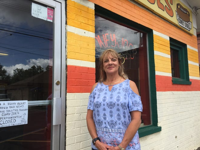 After 47 years in business, Coney Joe's owner Kim Axtin Bredow, seen Thursday, May 23, 2019, closed the Brighton eatery and sold the building.