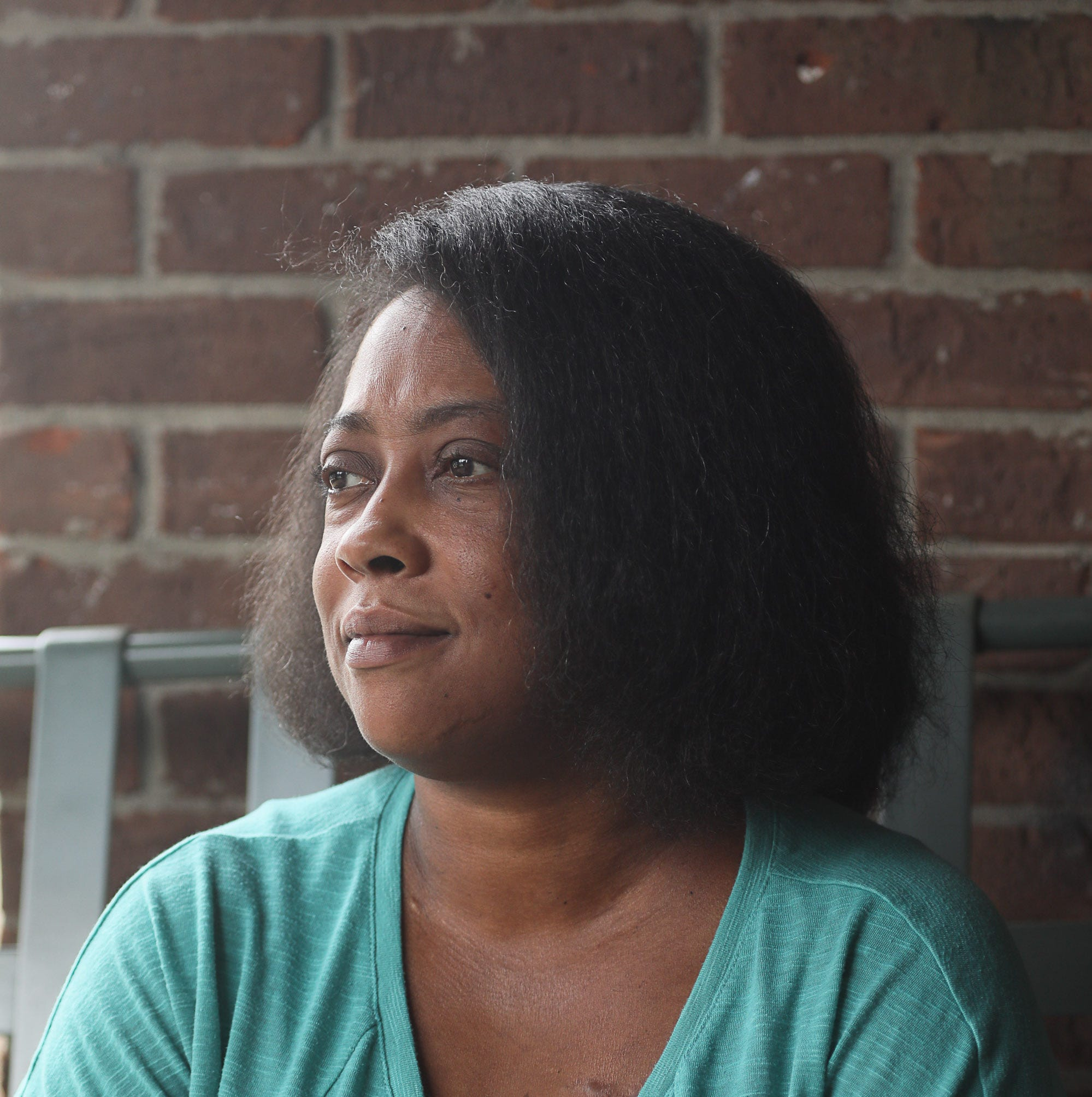 LeNata Townsend at her home in Louisville, KY. May 22, 2019