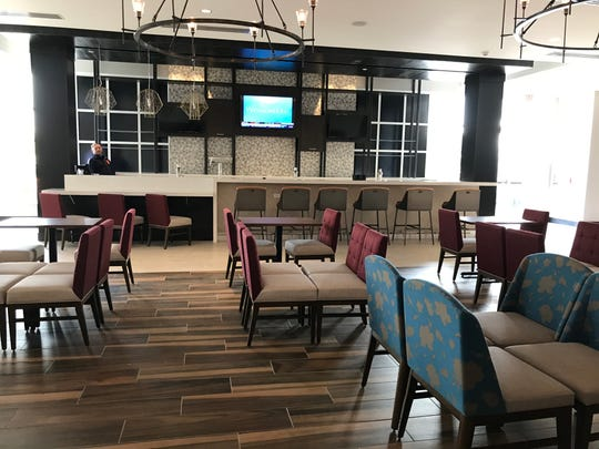 Blume, a 64-seat restaurant, will open inside the new Hilton Garden Inn on Saginaw Highway in Delta Township May 29.