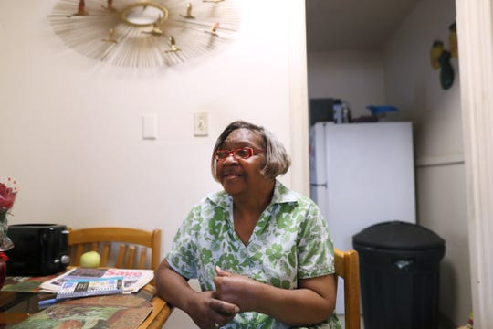 Margaret Gilland, 66, has lived in Memphis' Binghampton neighborhood all her life, where just last year a Save-A-Lot grocery store moved in to relieve her multiple-hour bus commute for food.