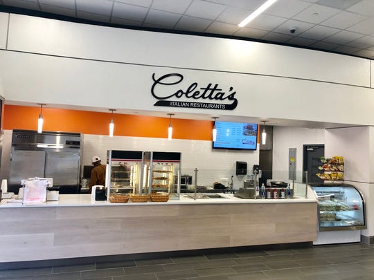 Coletta's is one of the three food vendors at the UT Health Science Center food court on Madison.