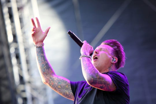 Papa Roach, with lead singer Jacoby Shaddix, will co-headline Summerfest's American Family Insurance Amphitheater July 4.