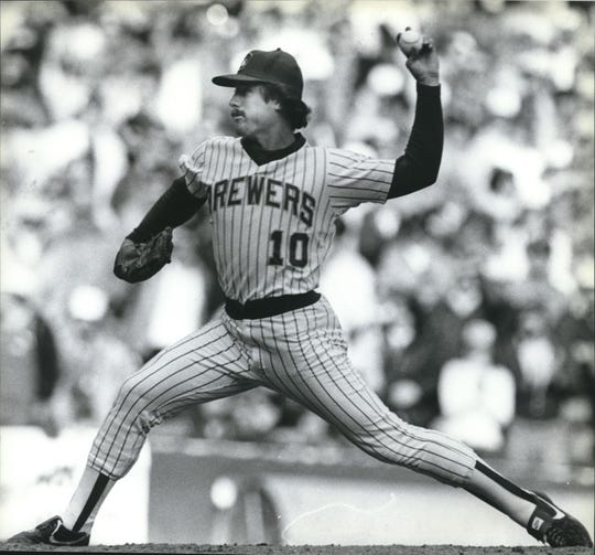 Bob McClure locks down a save in the 1982 World Series. He saved back-to-back games in Milwaukee to give the Brewers a 3-2 lead in the series against the Cardinals.