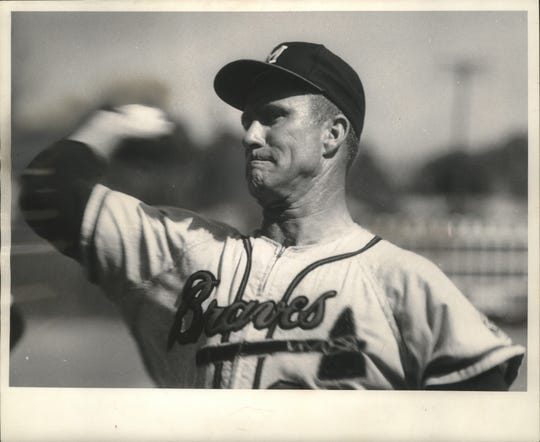 Lew Burdette led the Milwaukee Braves to the 1957 World Series title, the lone World Series crown in Milwaukee.