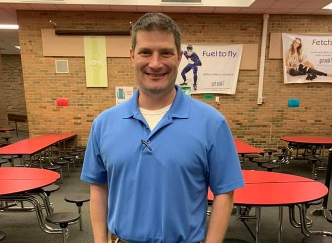 """Shawn Bumgardner paid off all the negative lunch balances for Cudahy Middle School students, about 30 in total. """"When I learned there were children that could possibly go hungry at school, I decided it was time to act,"""" Bumgardner said."""