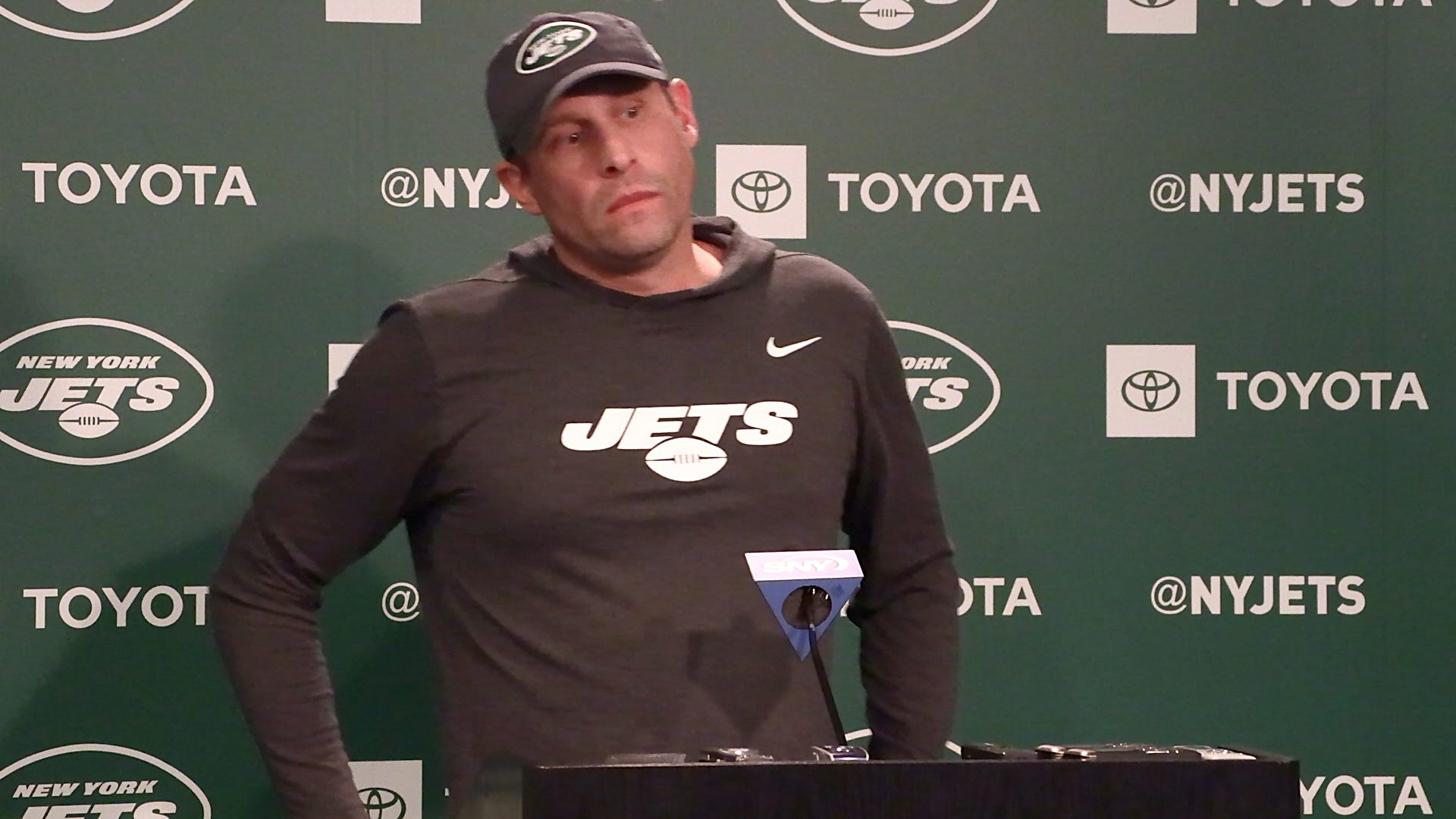 Jets coach Adam Gase says he had nothing to do with GM Mike Maccagnan's firing
