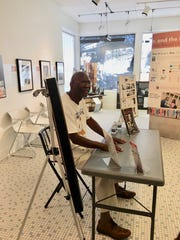 The Rev. Alphonso Petway visits the Freedom Rides Museum in Montgomery on Saturday, May 18, 2019. The museum is the bus station site of the 1961 attack on the Freedom Riders.