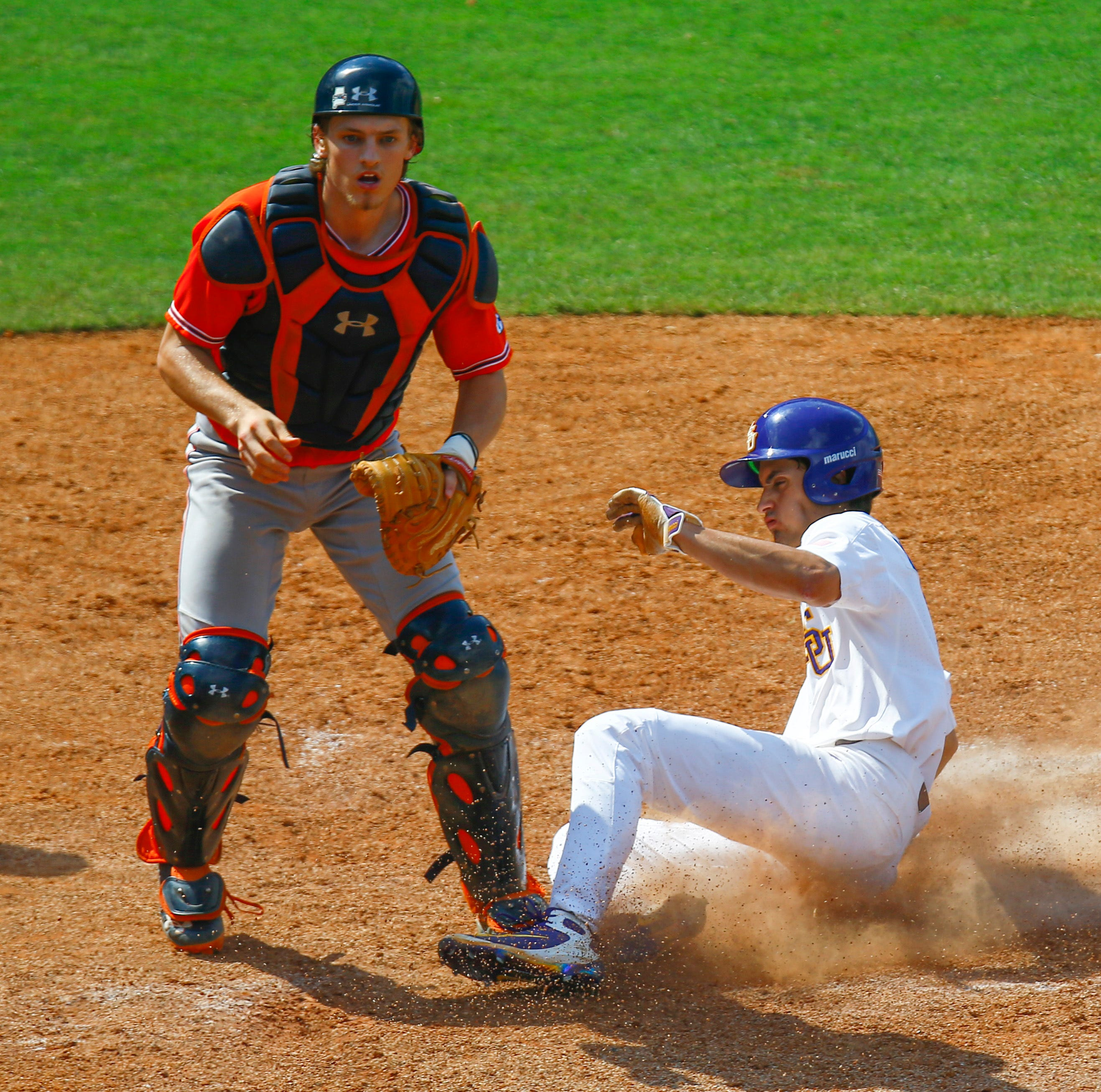 Auburn's run through the SEC Tournament ends with a ball in the dirt and heartbreak