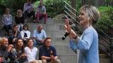Karlen Evans tells her story at Nashville Storytellers: Animal Adventures at Nashville Zoo.