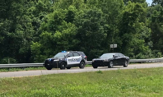 Heavy police presence was in the area of Franklin High School and along Mack Hatcher Memorial Parkway on May 23, 2019.