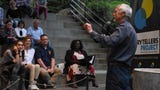 John Guider tells his story at Nashville Storytellers: Animal Adventures at Nashville Zoo.
