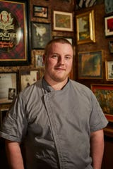 Vincent Farr, executive chef at Ellington's Mid Way Bar & Grill