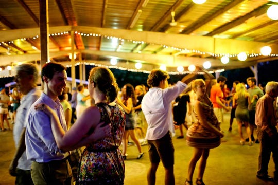 Get your dancing shoes on: The Big Band Dances are back on Saturdays in Centennial Park.