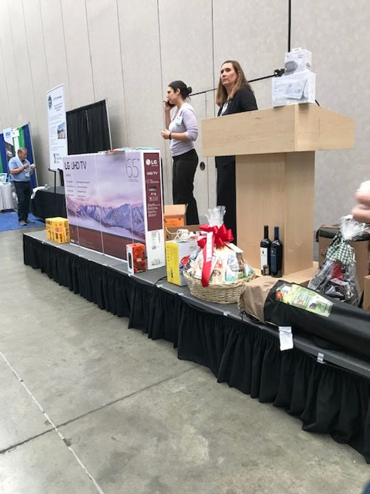 TDEC's annual Environmental Show of the South offered giveaways that included TVs and power tools.