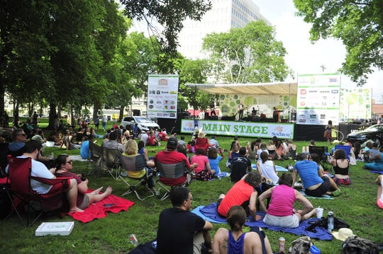 This is the final weekend for Musicians Corner for this summer.
