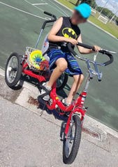 Tricycle that is specialized for a Naples youth with developmental disabilities was stolen earlier this week.
