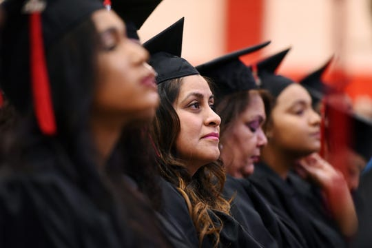 Passaic County Community College held their 47th graduation ceremony at the college in Paterson on Thursday, May 23, 2019.