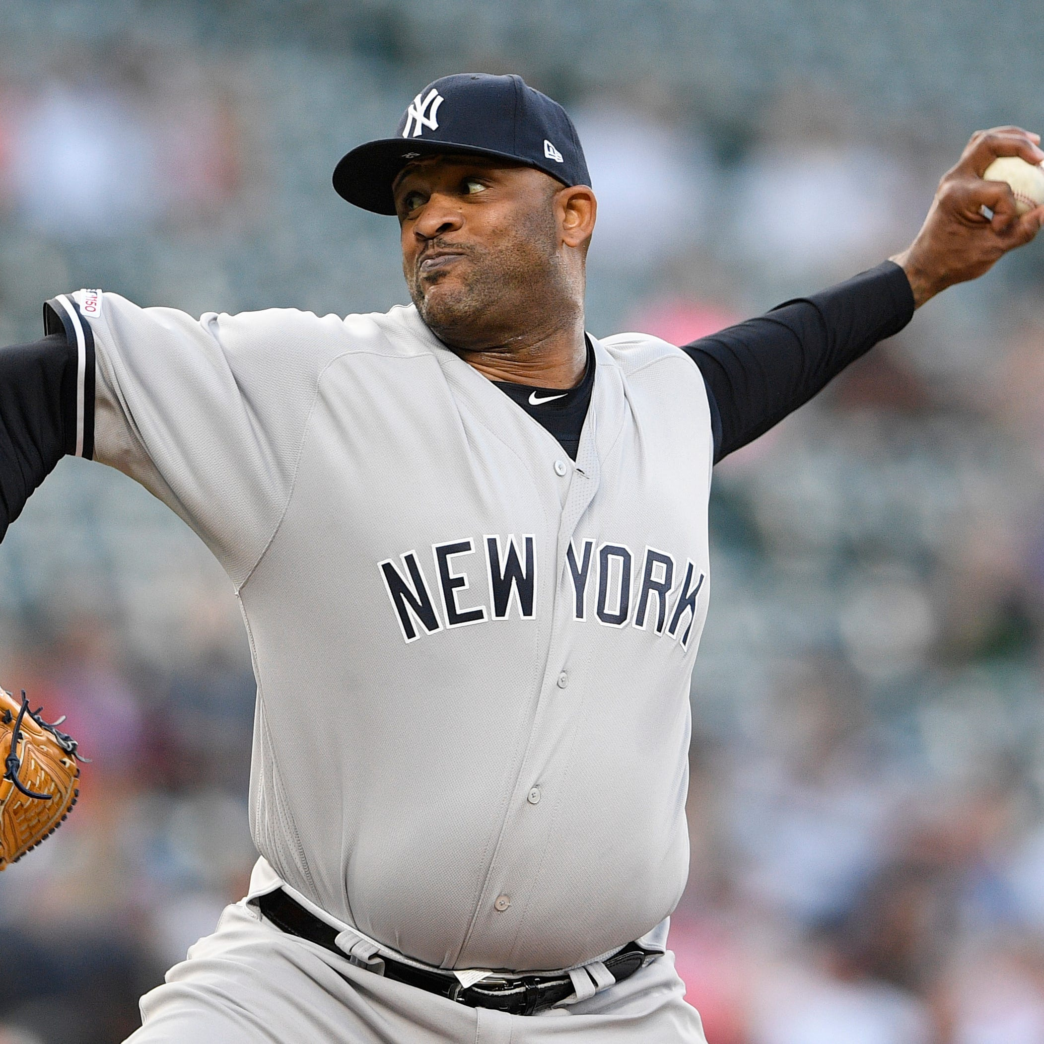 New York Yankees' CC Sabathia placed on 10-day IL due to ailing knee
