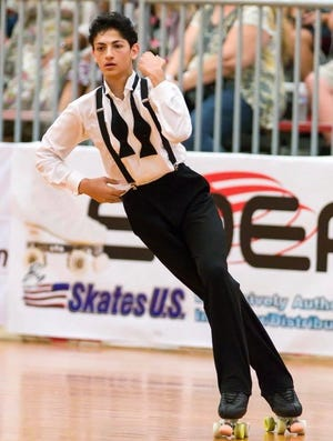 Livonia's Jayanthesh (Gene) Kalmat  qualified for the World Roller Games in Spain.