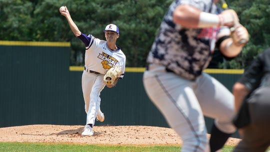 Dane Dixon was one of four LSU Eunice baseball players to be named to the All Region 23 Team. Dixon had the most wins among any pitcher in NJCAA Division II with an unbeaten 13-0 season.