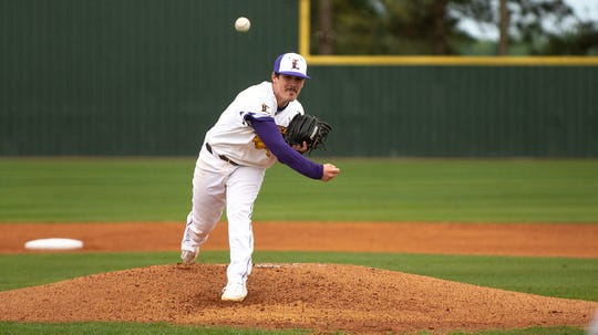 "Andrew Sheridan was one of four LSU Eunice baseball players to be named to the All Region 23 Team. Sheridan served as the ""Friday Night"" arm for the Bengals and had a 12-2 record."