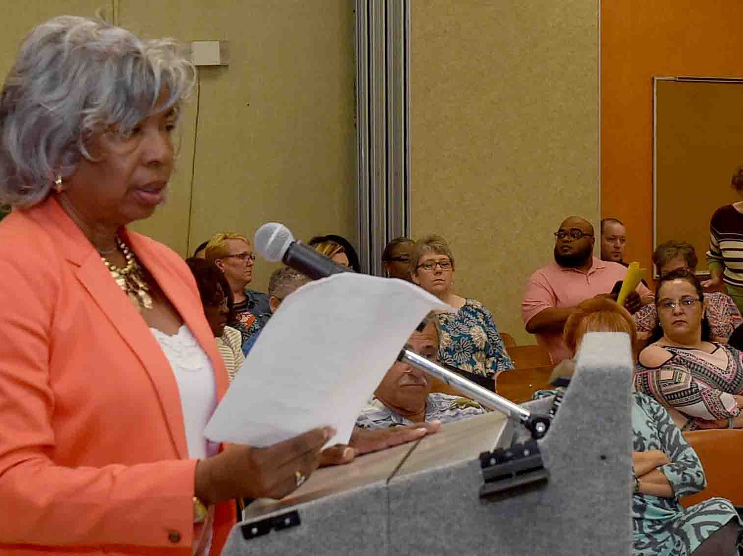 School board strife over personnel transfers continue